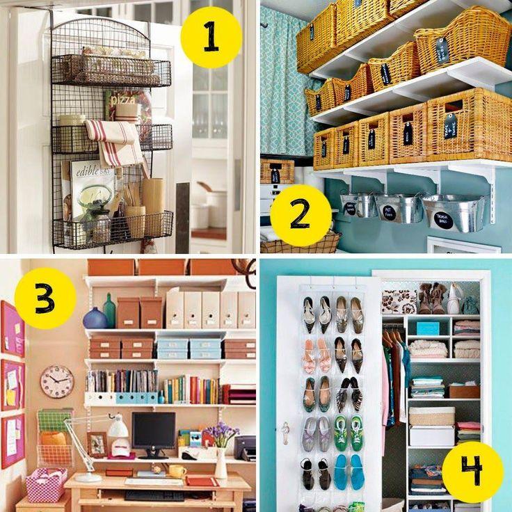 TIPS REMAX UNO: Si no tienes espacio te contamos cómo puedes ordenar y colocar los zapatos, la ropa, sábanas...