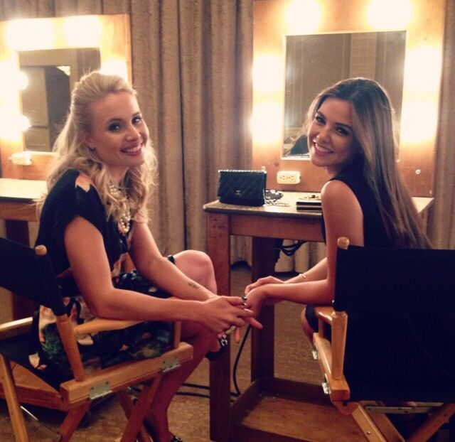 Danielle Campbell Amp Leah Pipes The Originals Pinterest