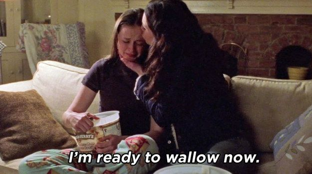 "When Rory was finally ready to mourn her first real heartbreak. | 47 Moments Every ""Gilmore Girls"" Fan Will Never Get Over"