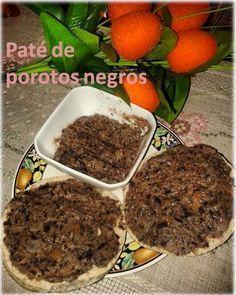 Pate de porotos negros! una rica opcion para veganos a la hora del desayuno.