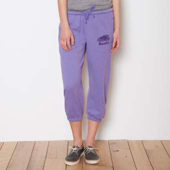 Lightweight Cropped Sweatpant | Womens Bottoms Sweatpants | Roots >> I'm getting myself one this weekend!! so many pretty colors to choose from!!