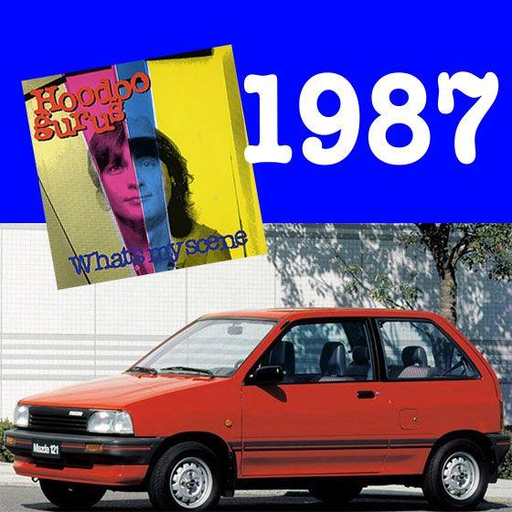 "What's my Scene you ask? The Mazda 121 Hatchback! It was released in 1987 - the same year the Hoodoo gurus gave us their iconic hit ""What's my scene"" #mazdaaustralia #hornsbymazda #classiccars #hoodoogurus #music"