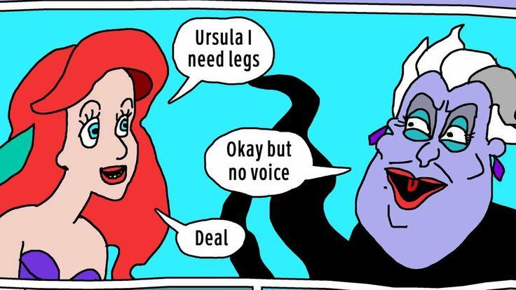 ARIEL NEEDS LEGS (a motion comic)