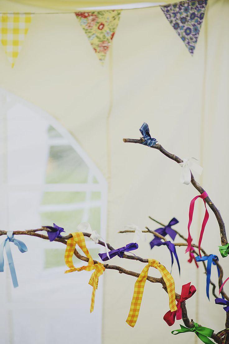 Creative wedding photography // Peak District wedding // DIY wedding // Wedding wish tree // By Inta Photography // http://intaphotography.com