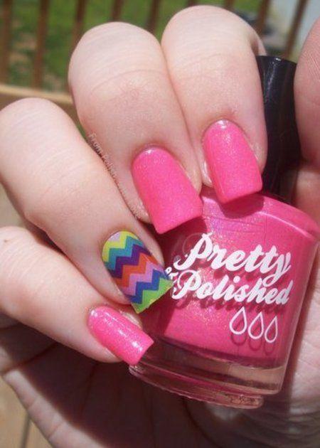 Cute Chevron Jamberry..pretty in pink!