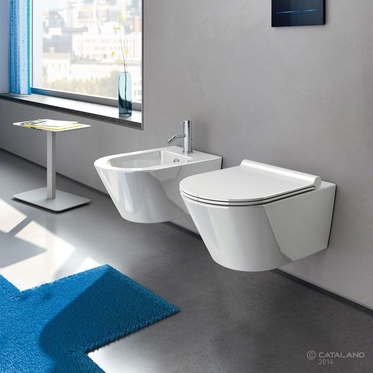 Zero wc Newflush|bidet 55x35