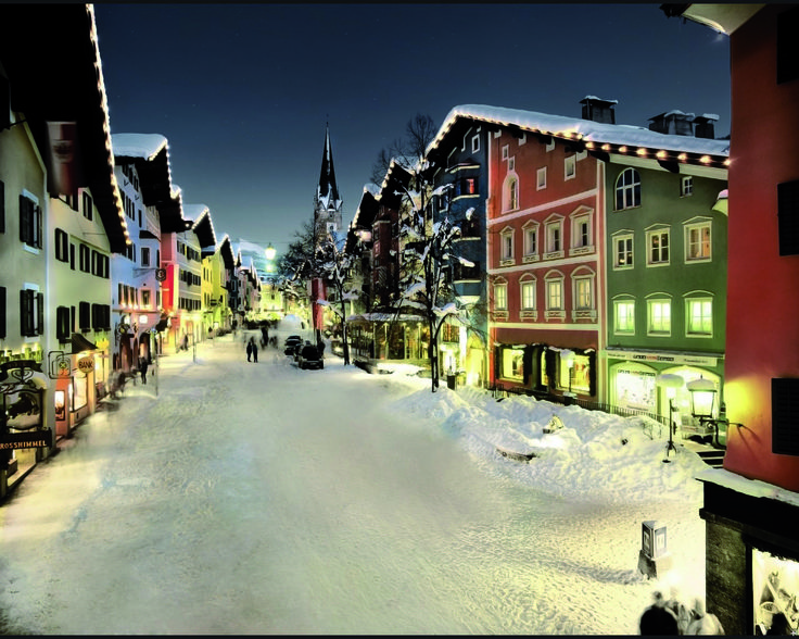 The beautiful village of Kitzbuhel. Contact us today, to experience this beauty for yourself!