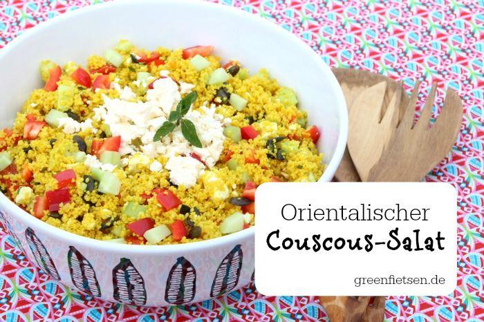 orientalischer couscous salat mit ger steten k rbiskernen rezept greenfietsen. Black Bedroom Furniture Sets. Home Design Ideas