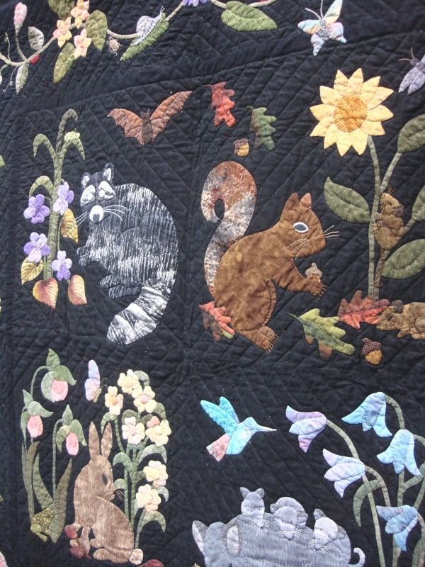 Woodland Creatures Collector Series Quilt By Rosemary