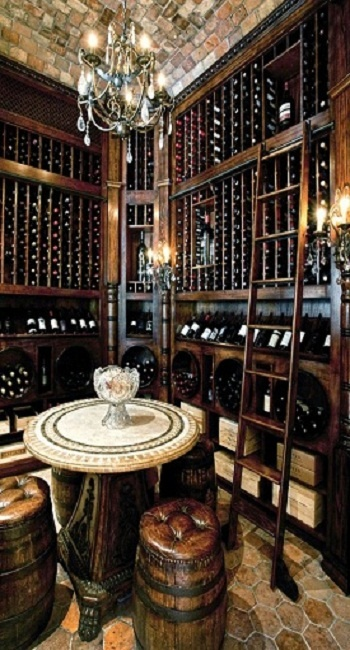 Gorgeous wine cellar [ CityWineCellar.com ] #cellar #wine #quality