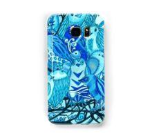 Samsung Galaxy Case/Skin Under $30.00 Design©CherieRoeDirksen  #blue #birds #galaxy