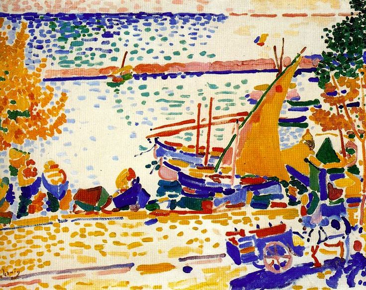 The Port of Collioure - Andre Derain - WikiArt.org