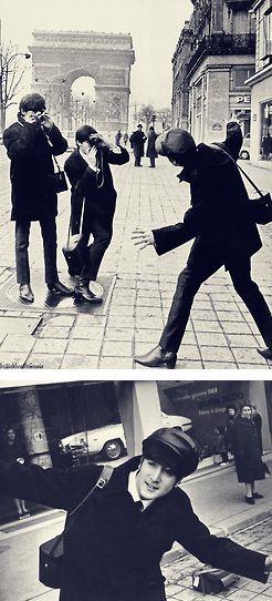 I'm John Lennon. I do what I want. (LOL!)