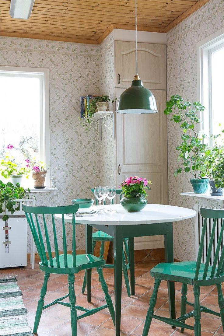 Un bello rincón de Office lleno de frescura que hará las delicias de todos nuestros desayunos ☕