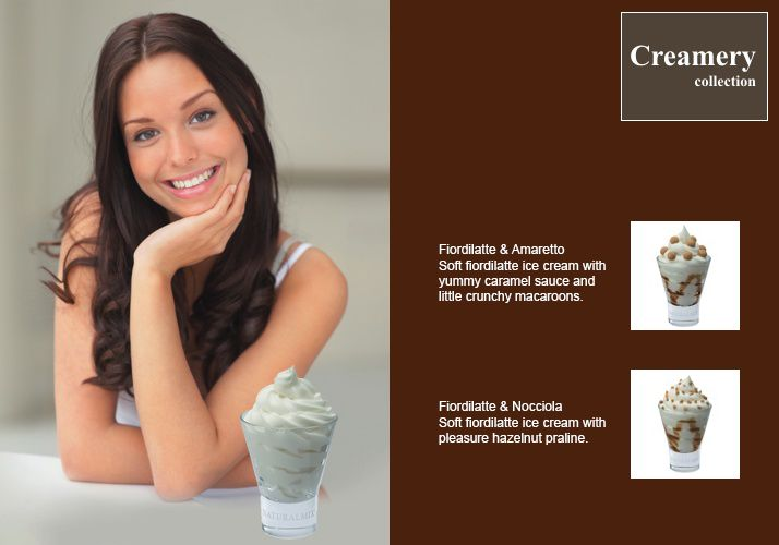 Delicious Softice from Italy  Order now online -  http://www.solino.gr/naturalmix/241/gelato-soft/gelato-soft-1.html