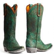 Mexicana boots Cassidy Turquoise floral