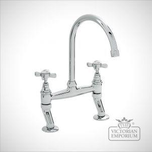 Bridge mixer kitchen tap - great for period kitchens