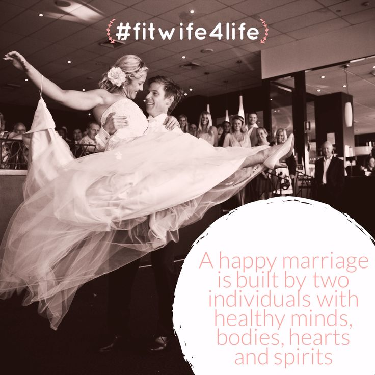 A healthy, happy marriage is built by two individuals with healthy minds, bodies, hearts and spirits #healthymarriage #relationshipgoals #eatplaylove #bridalicious #fitwife4life @fitwife4life