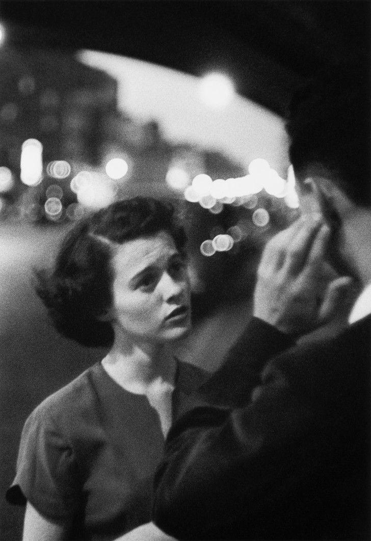 Exposition du photographe US Louis FAURER Fondation Henri Cartier-Bresson  Très beau témoignage des années 50 et 60