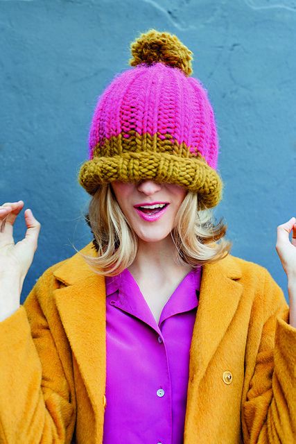Anna Wilkinson | His or Hers Bobble Hats pattern on Ravelry