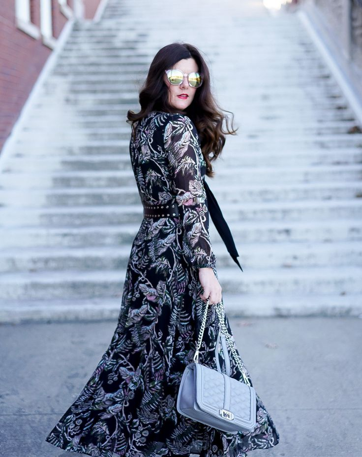 Long Sleeve Maxi Dress | A Lily Love Affair