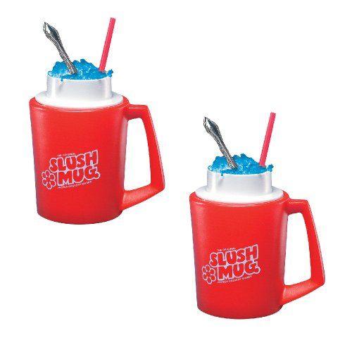 SLUSH MUGS Frozen Beverage Slushie Cups - SET OF 2 - Slushee Treats at Home CloseoutZone http://www.amazon.com/dp/B003ANJRSK/ref=cm_sw_r_pi_dp_yevCub0HW65R4