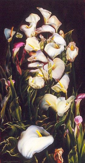 eric montoya art | ... call lillies 2004 by eric montoya repinned from art by allan paterson