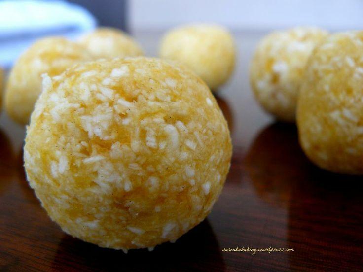 apricot-coconut pralines