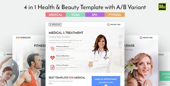 #Medical#,#Spa#,#Yoga#&#Fitness#Muse#Landing#Page#Template# - #Landing#Muse#Templates#