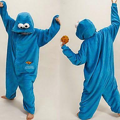 Disfraces Originales: Pijama Disfraz Monstruo de las Galletas