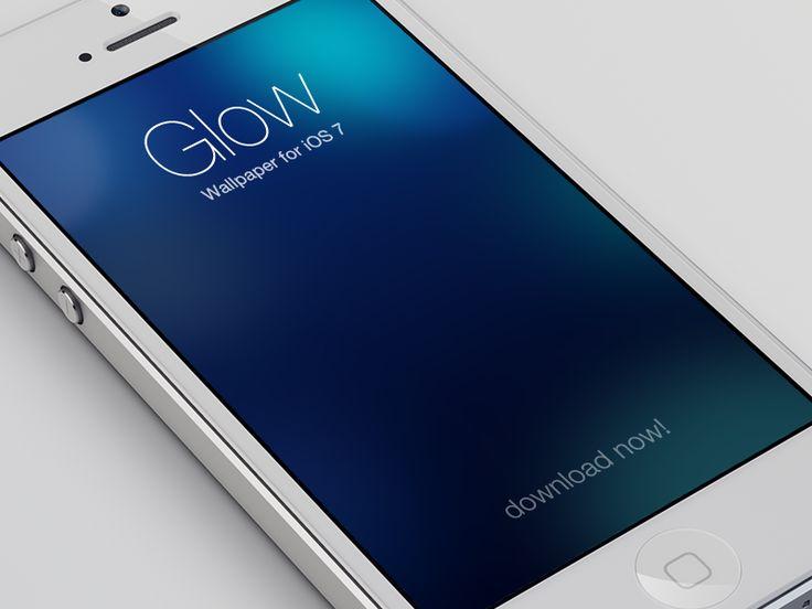 iOS 7 Wallpaper - Glow by Nik