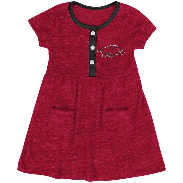 Arkansas Razorbacks Colosseum Infant Girls Triple Jump Dress - Cardinal - $21.99