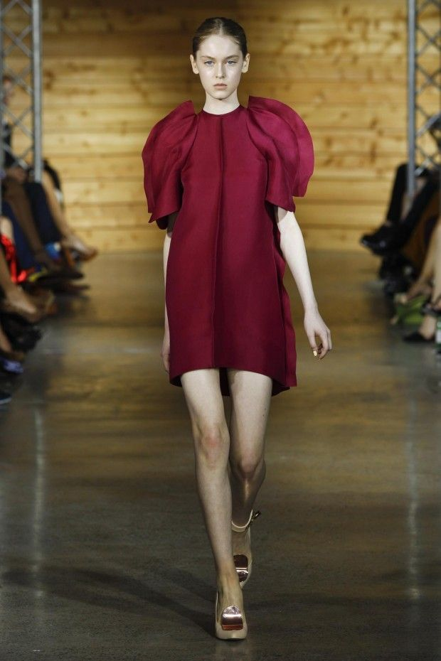 #fashionweekdreamery - trending - red @ Ellery