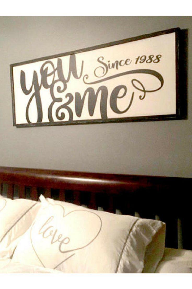 I love this, it makes my heart happy! #ad #farmhouse #youandmesince #youandme #loveydovey #lovebirds #giftidea #anniversary