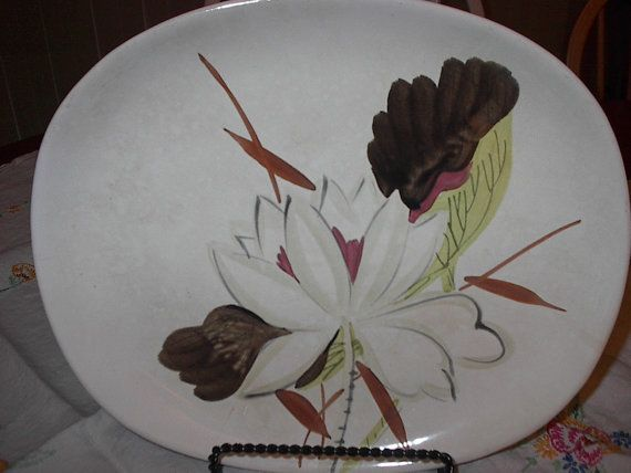 Items similar to Red Wing Pottery Vintage Platter on Etsy & 118 best REDWING DINNERWARE etc images on Pinterest   Cutlery ...