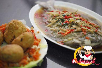 Resep Hidangan Lauk Tim Ikan Mas, Resep Ikan Tim, Club Masak