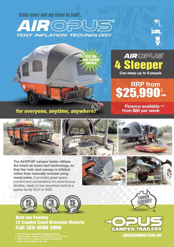 Camper Trailers – For Sale Australia-Wide | OPUS