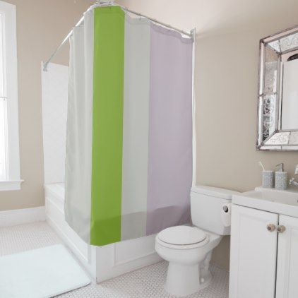 color field - grey green purple shower curtain - shower curtains home decor custom idea personalize bathroom