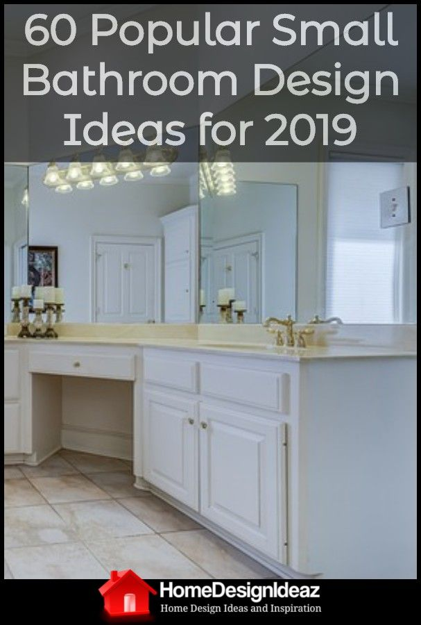 60 Most Popular Small Bathroom Design Ideas For 2019 Small