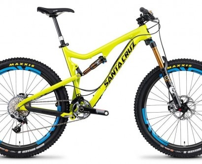 The new Santa Cruz Bronson 650b enduro killing machine!