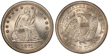 1871 Liberty Seated
