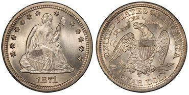 1871 Liberty Seated
