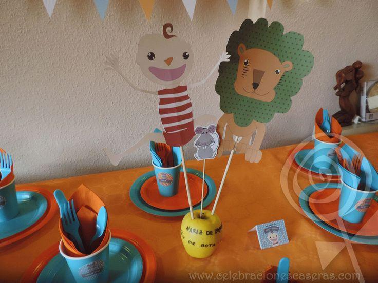 Celebraciones Caseras: Nicolás cumplió un año