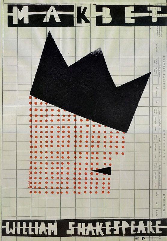 Sebastian Kubica, Makbet, Shakespeare, Size: B1