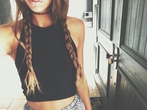 peinado trenzas