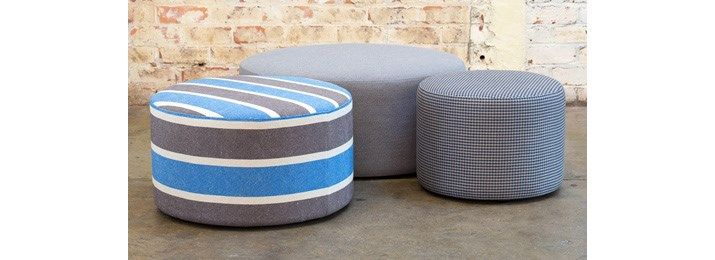 Lawrence ottoman - Designers Collection