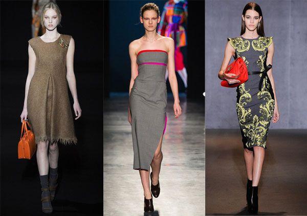 Повседневные платья 2014-2015 - фото и фасоны | WomanChoice - женский сайт
