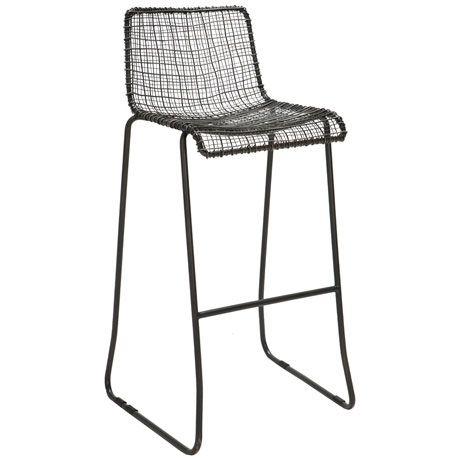 Grid Bar Stool 76cm   Freedom Furniture and Homewares ...