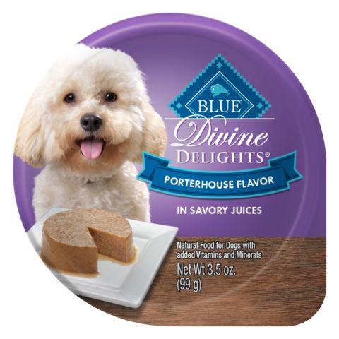 Blue Buffalo Blue Delights Small Breed Porterhouse Pate Dog Food