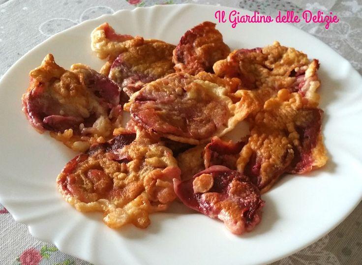 Le frittelle di bietola rossa possono essere un gustoso antipasto o anche un contorno, preparate così sono veramente deliziose
